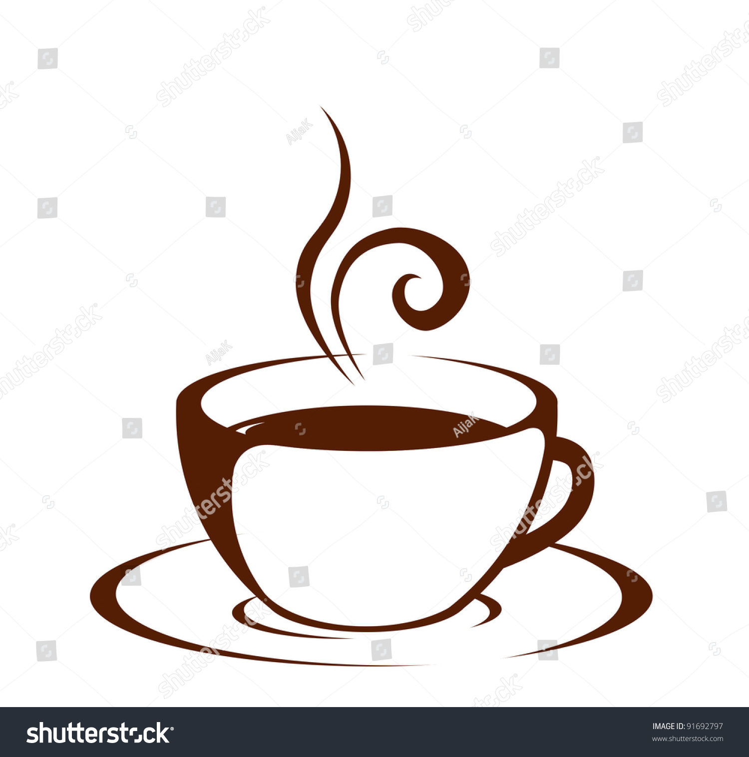 Vintage Coffee Cups Clip Art – Cliparts