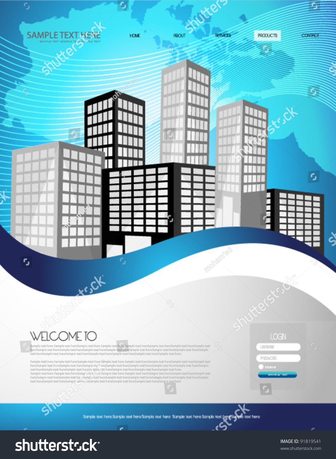 Real estate billboard design samples - Real Estate Web Template