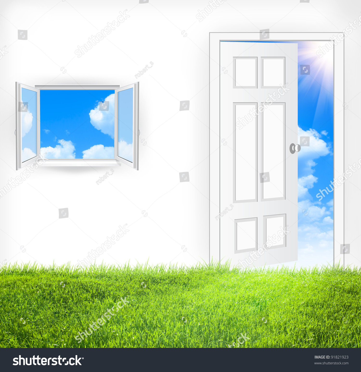 how to open a window from the inside