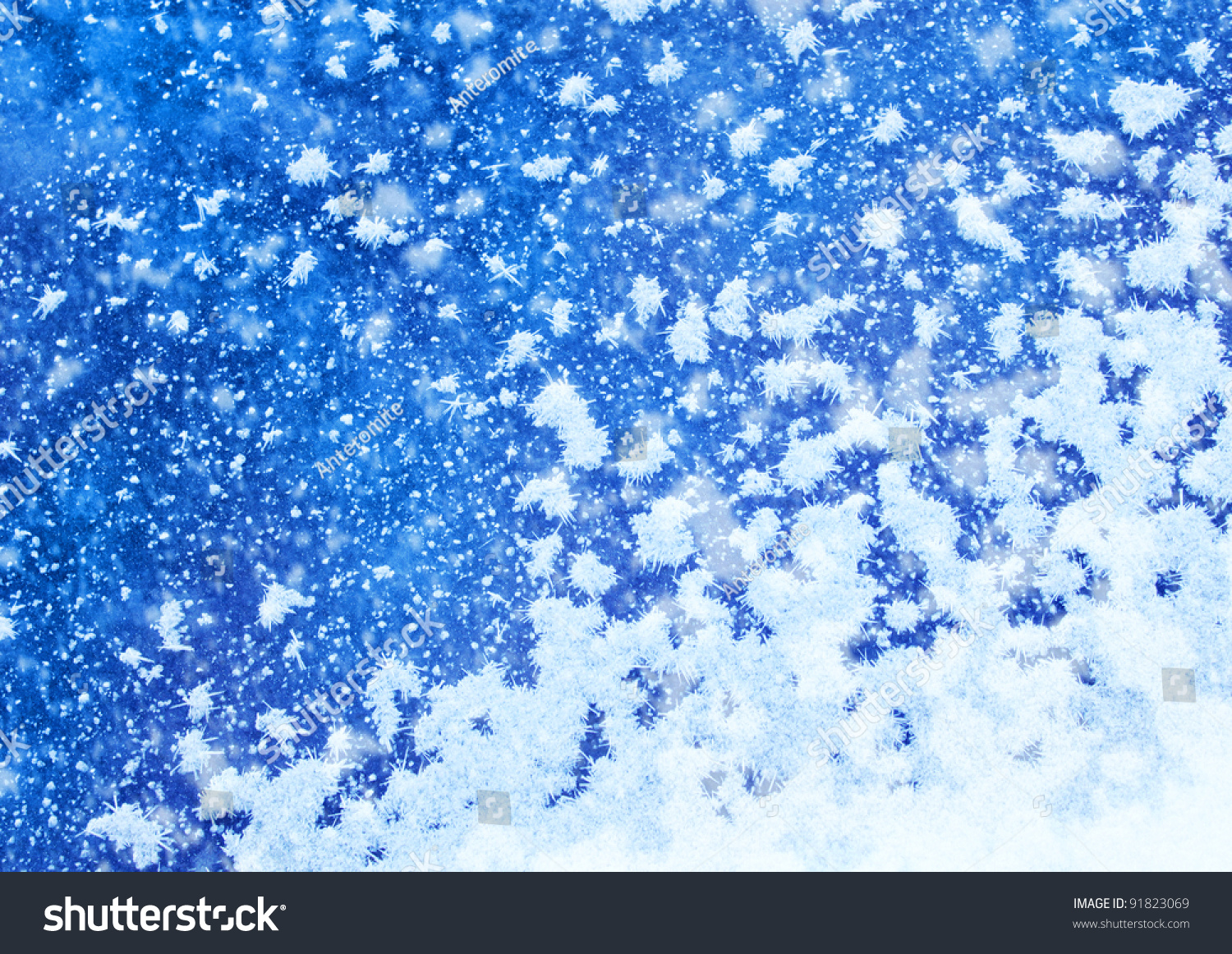 Real snowflake background stock image. Image of aqua ... |Real Snowflakes Background