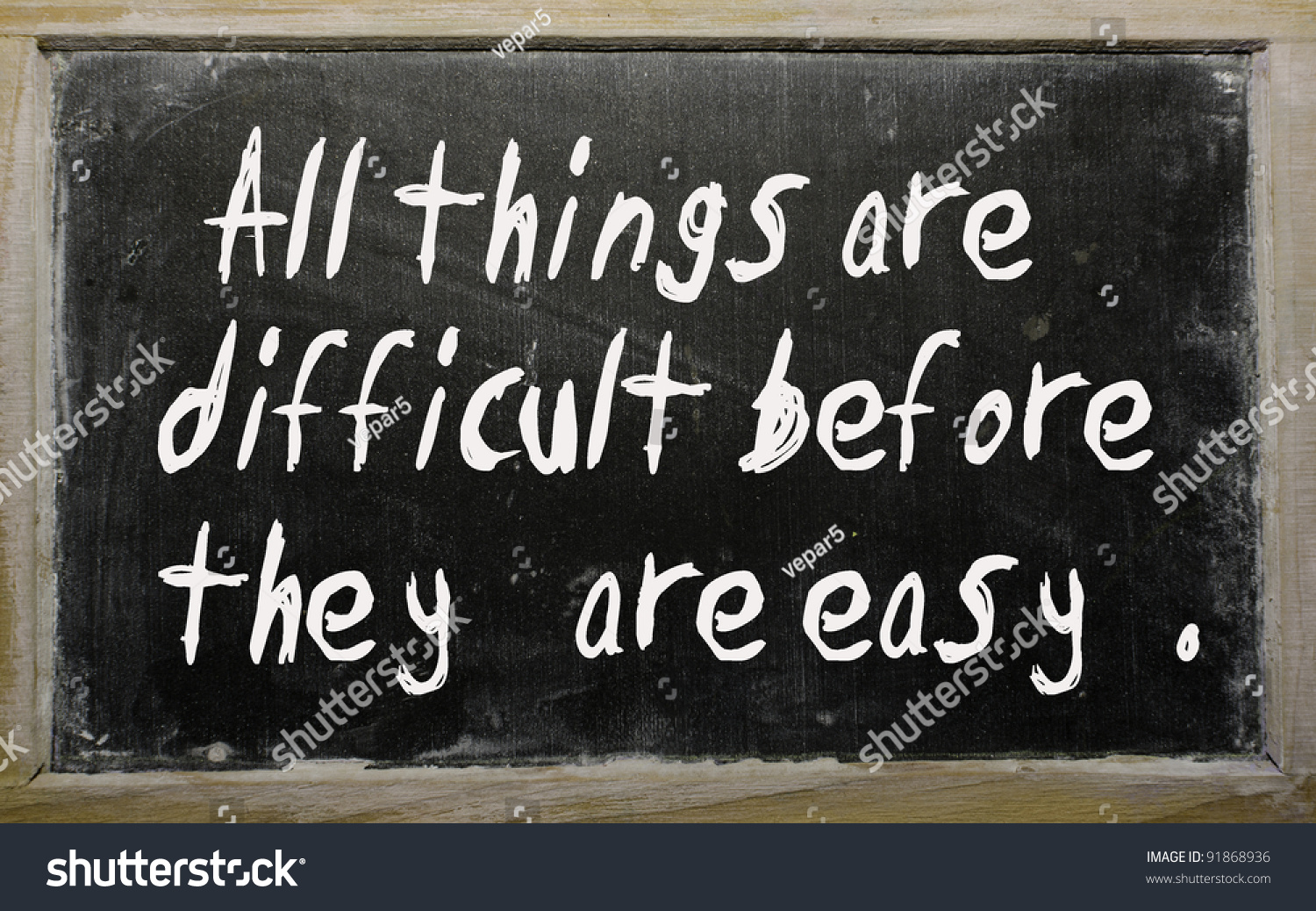 all things are difficult before they are easy essay How to construct an essay a good way to tie all the points together throughout the body section is to have them all clearly state how they its easy to make.
