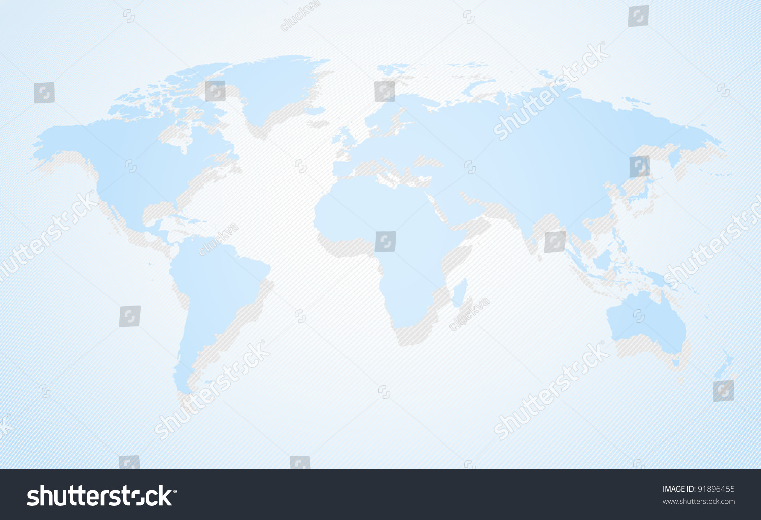 Blue business world map perspective view vectores en stock 91896455 blue business world map a perspective view and shadow gumiabroncs Images