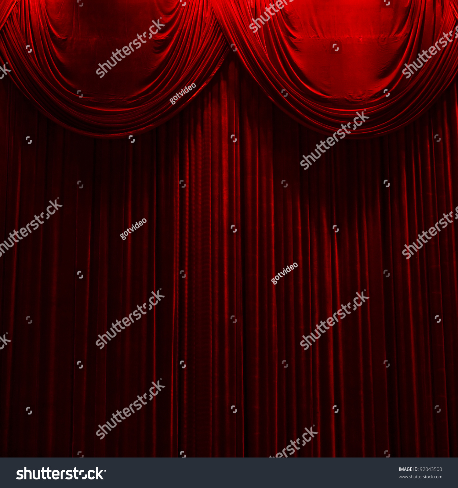 Cheap black stage curtains - Real Red Velvet Curtain Red Velvet Stage Theater Curtains