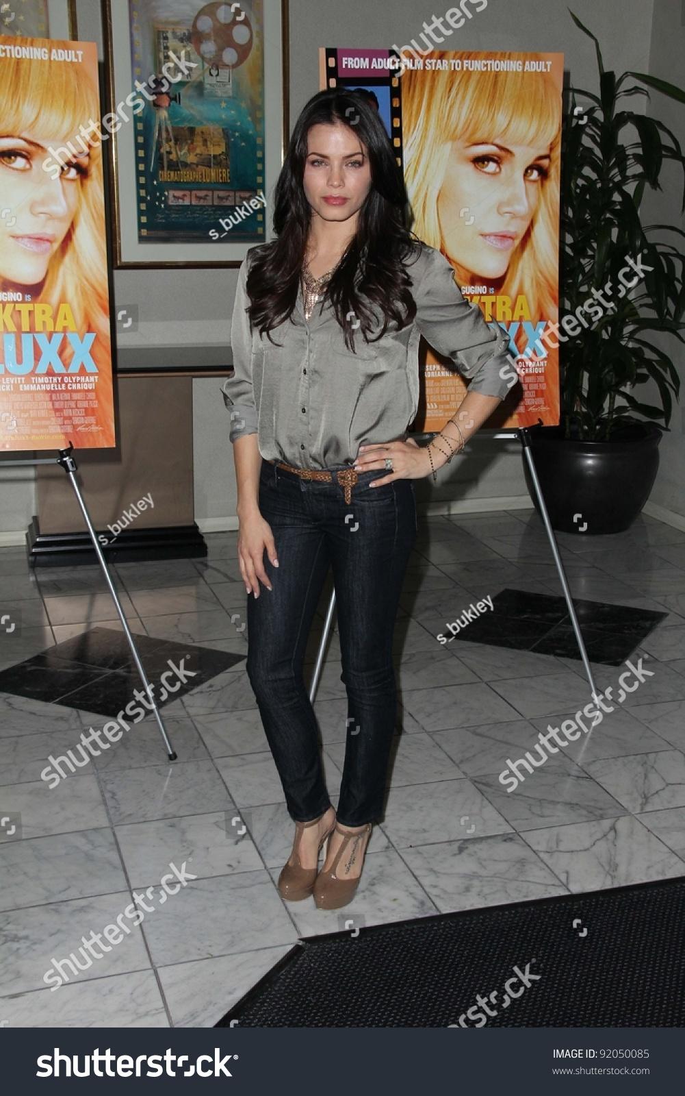 Jenna Dewan Elektra Luxx Los Angeles Stock Photo (Edit Now