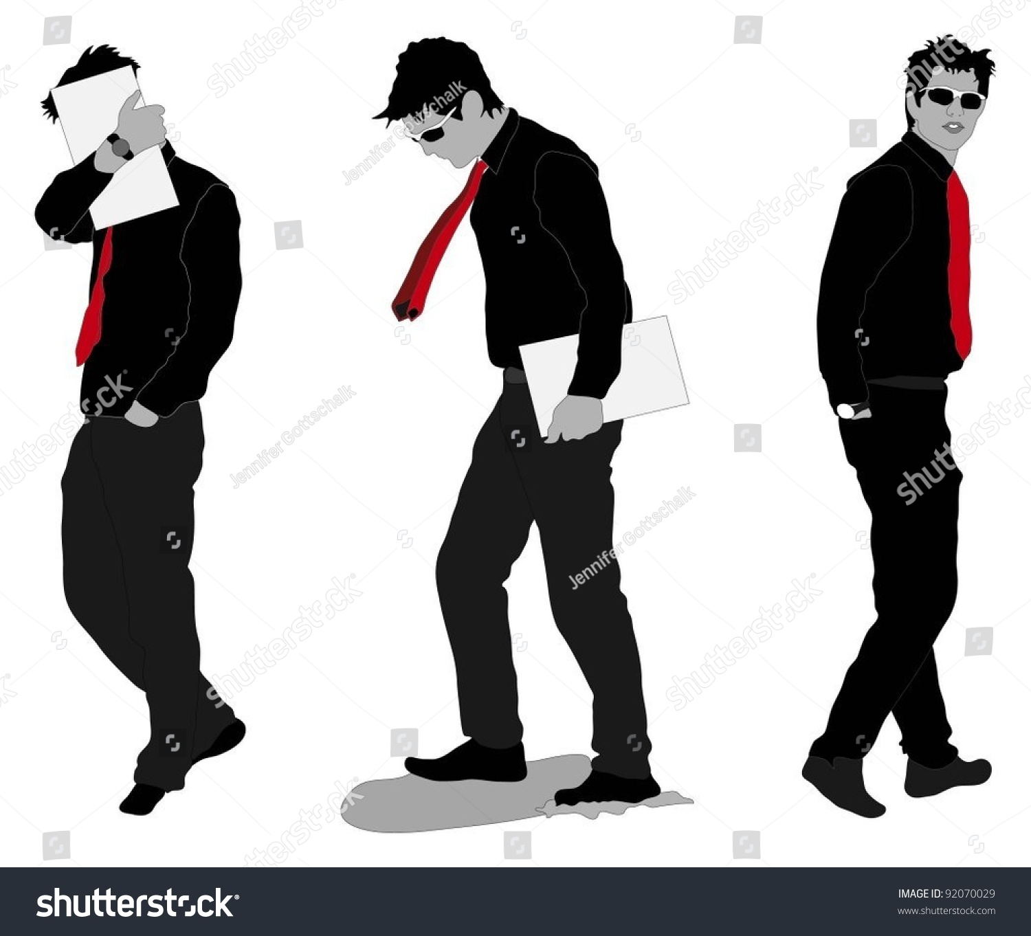 Photo Collection Vector Male Model