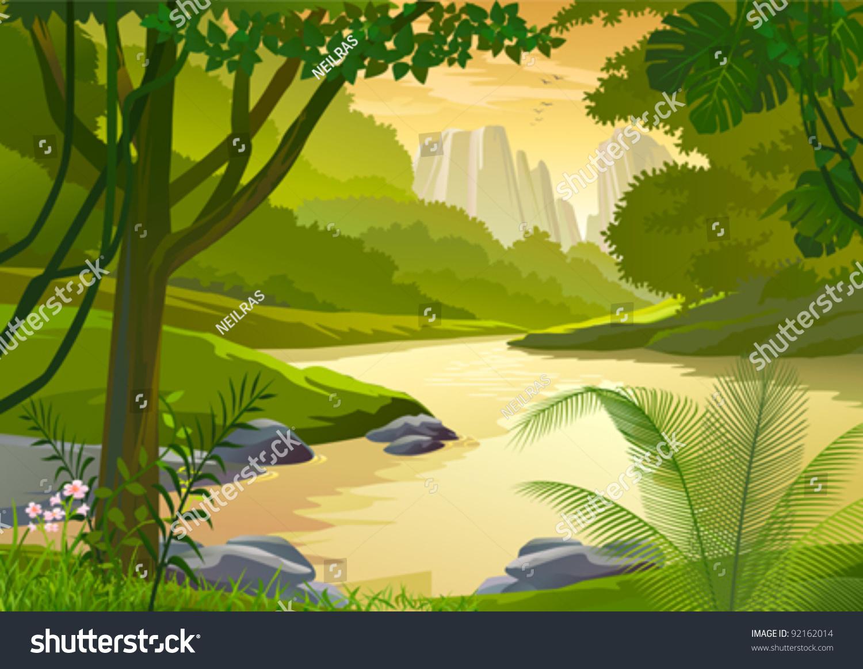 water stream clip art � cliparts