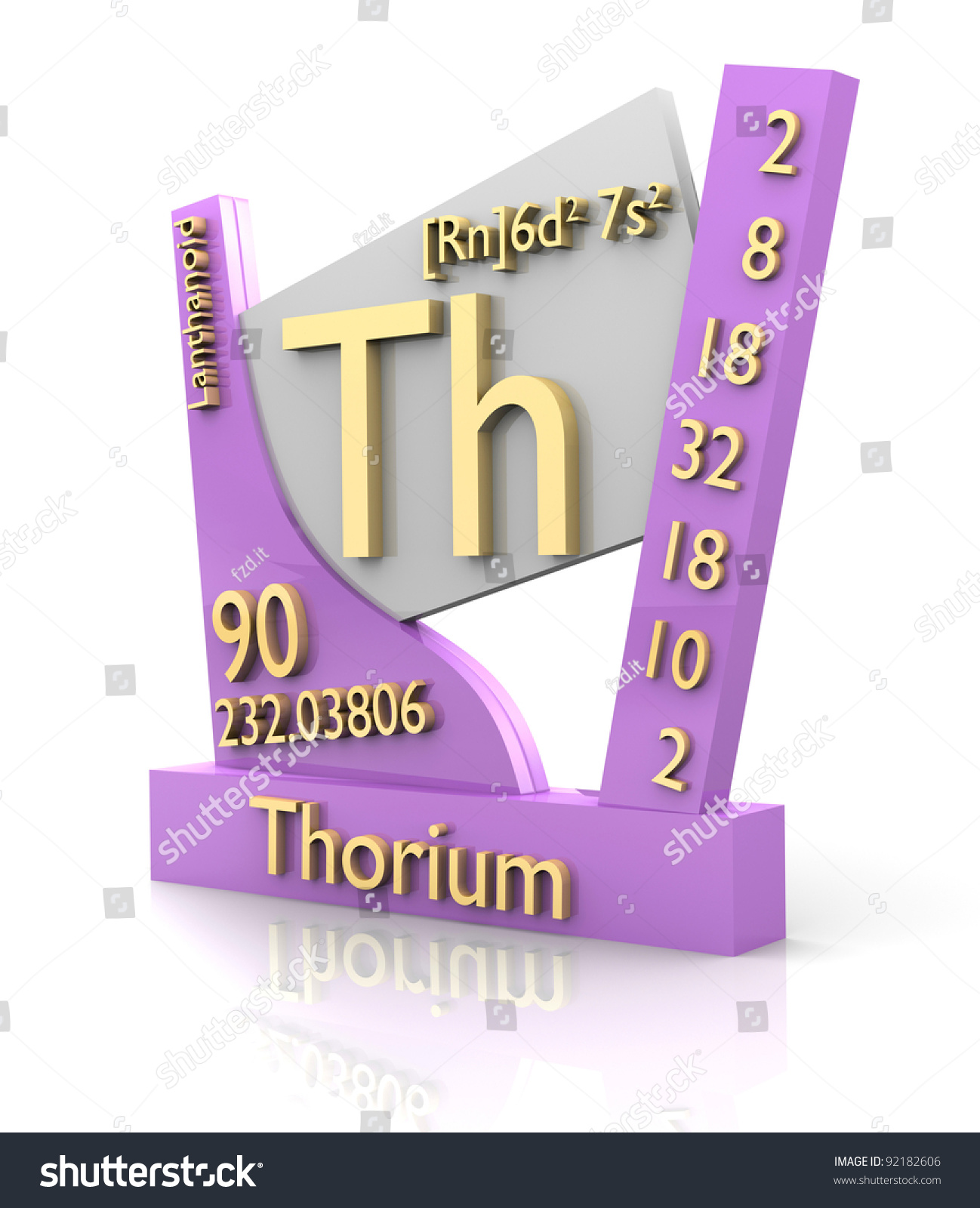 Periodic table element d image collections periodic table images thorium on periodic table gallery periodic table images thorium form periodic table elements 3d stock illustration gamestrikefo Images