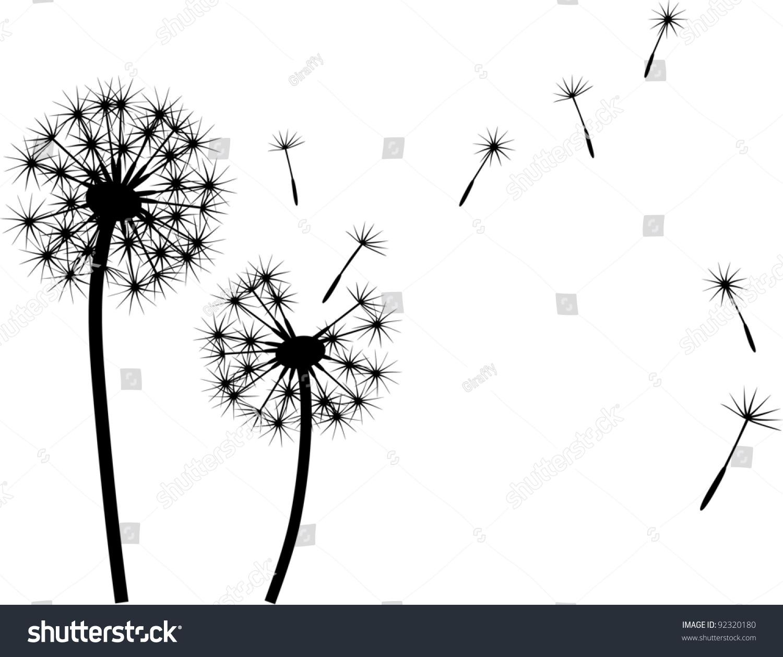 Blowing dandelion clip art - photo#21