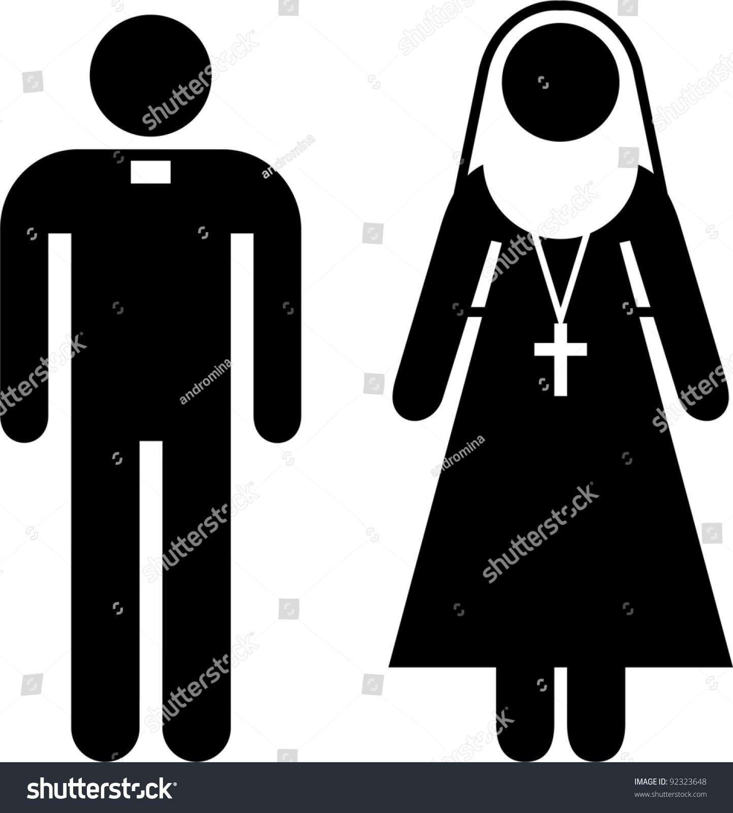 Priest and nun porn