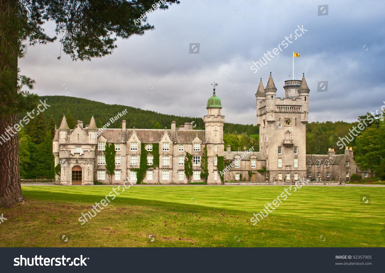 Balmoral Castle In Royal Deeside Aberdeenshire Scotland