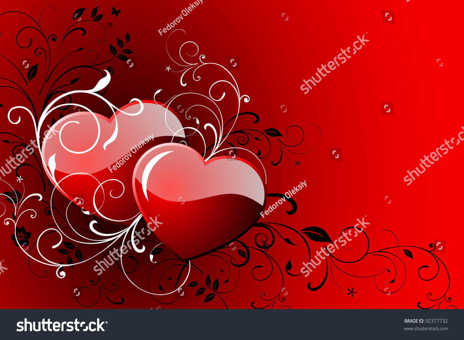 Happy Valentines Day Greeting Card Vector 92377732 – Happy Valentines Day Greeting Card