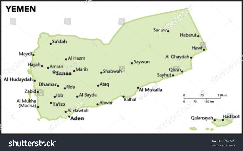 Yemen country map vectores en stock 92442541 shutterstock gumiabroncs Choice Image
