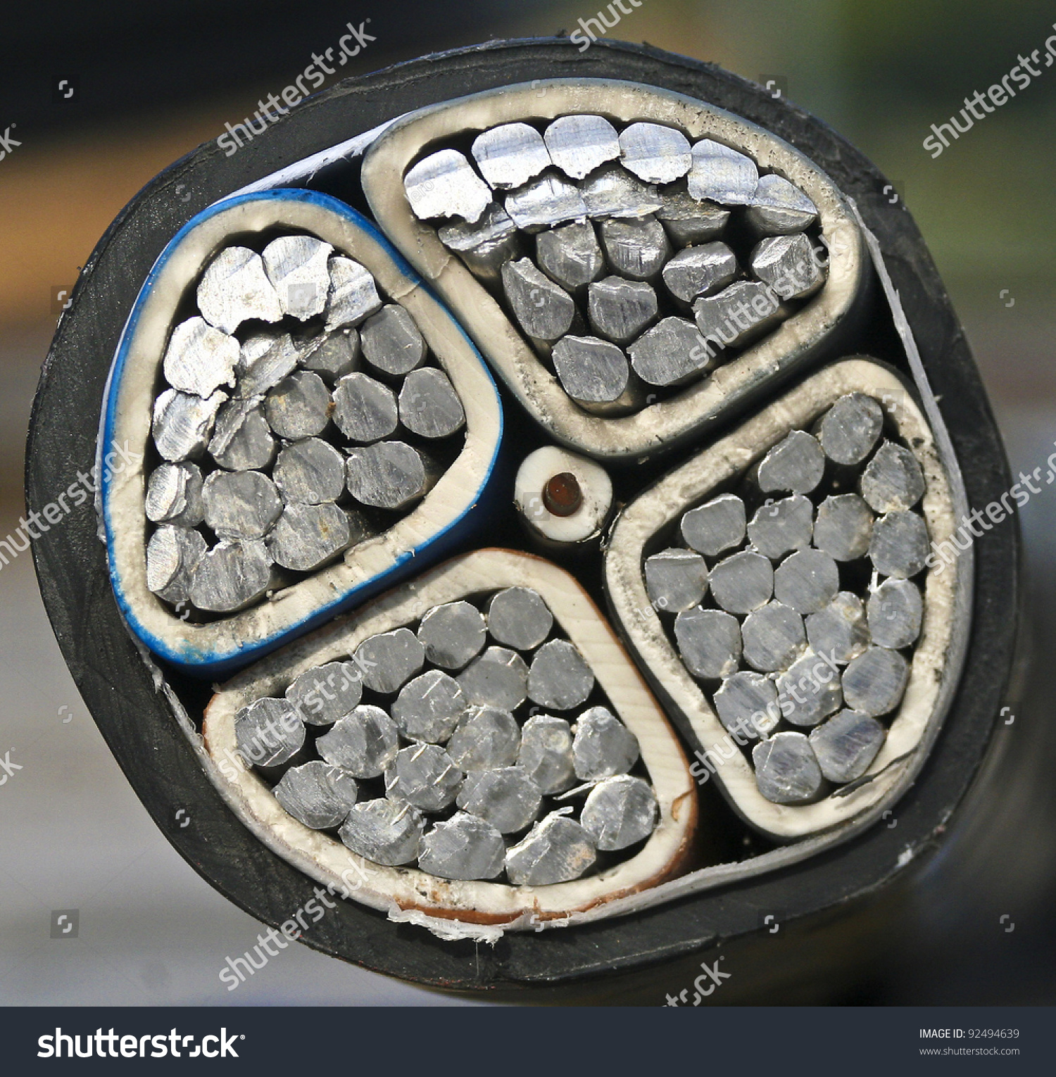 Direct Buried Cable : Direct buried cable stock photo shutterstock