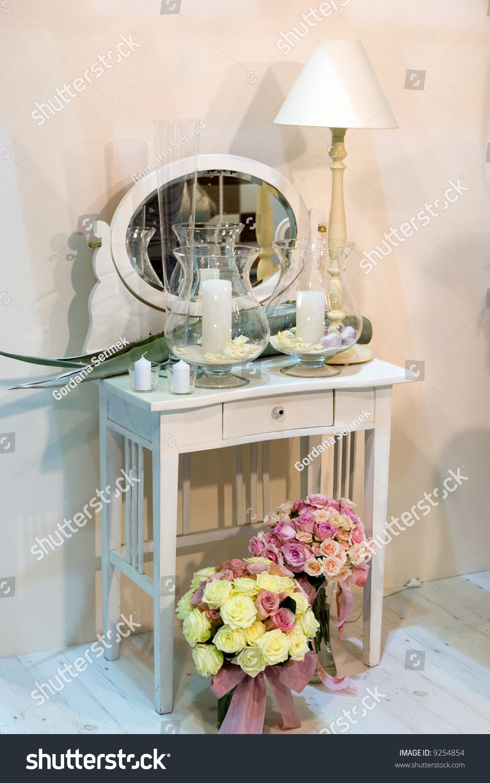 Shabby Chic Home Design Stock Photo 9254854 Shutterstock