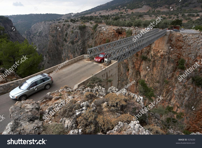 Bridge Aradena Gorge Crete Greece Stock Photo 925630 ...