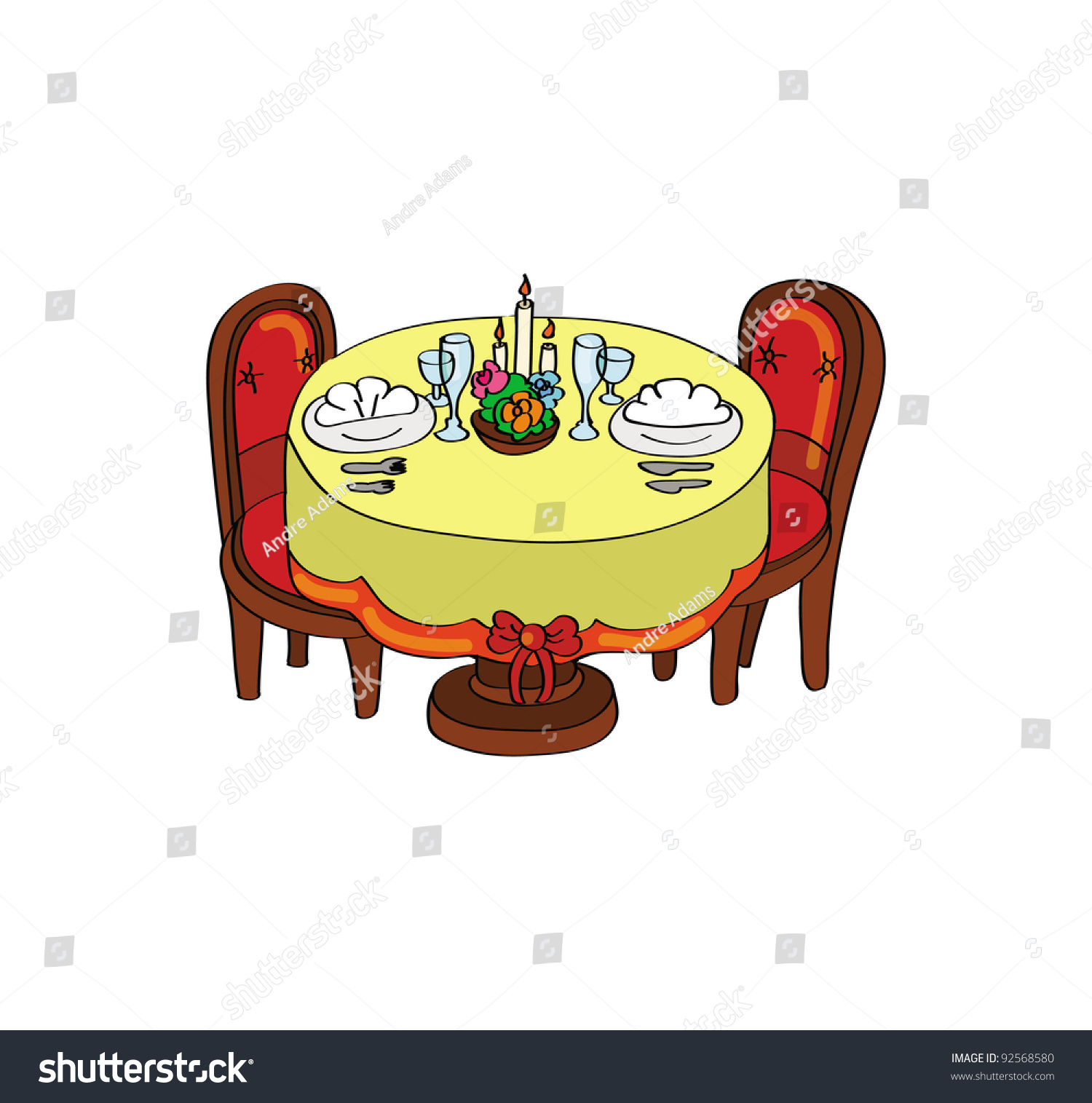 Antiques Round Table Clipart.Brown Table Clipart. 19 Vintage Table ...