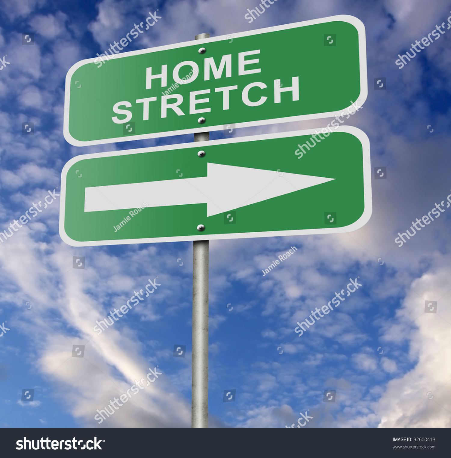 Image result for illustration of the home stretch