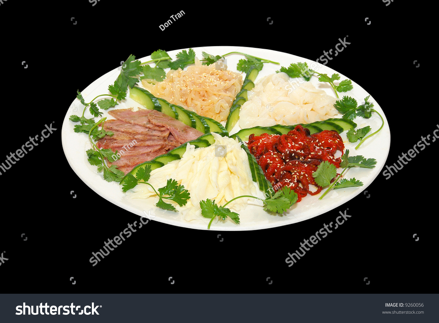 Chinese food cold plate appetizer stock photo 9260056 for Appetizer chinese cuisine