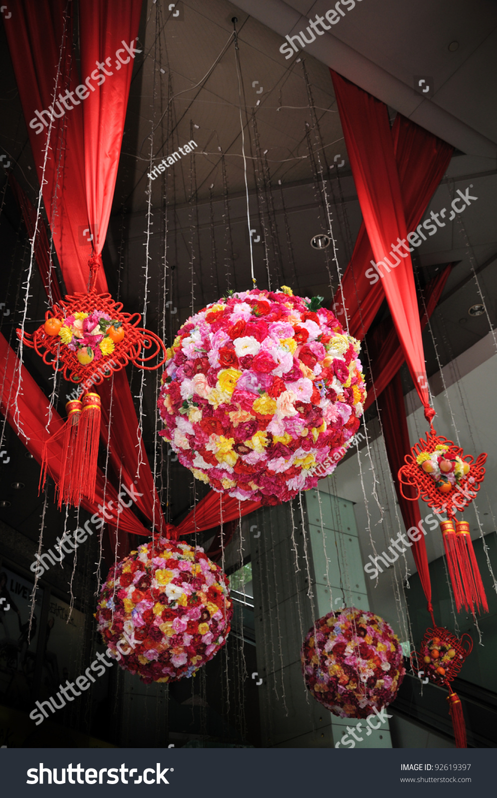 Singapore january 13 chinese new year stock photo 92619397 New flower decoration