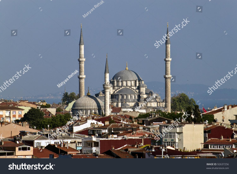 yeni mosque, eminonu square, istanbul | ez canvas