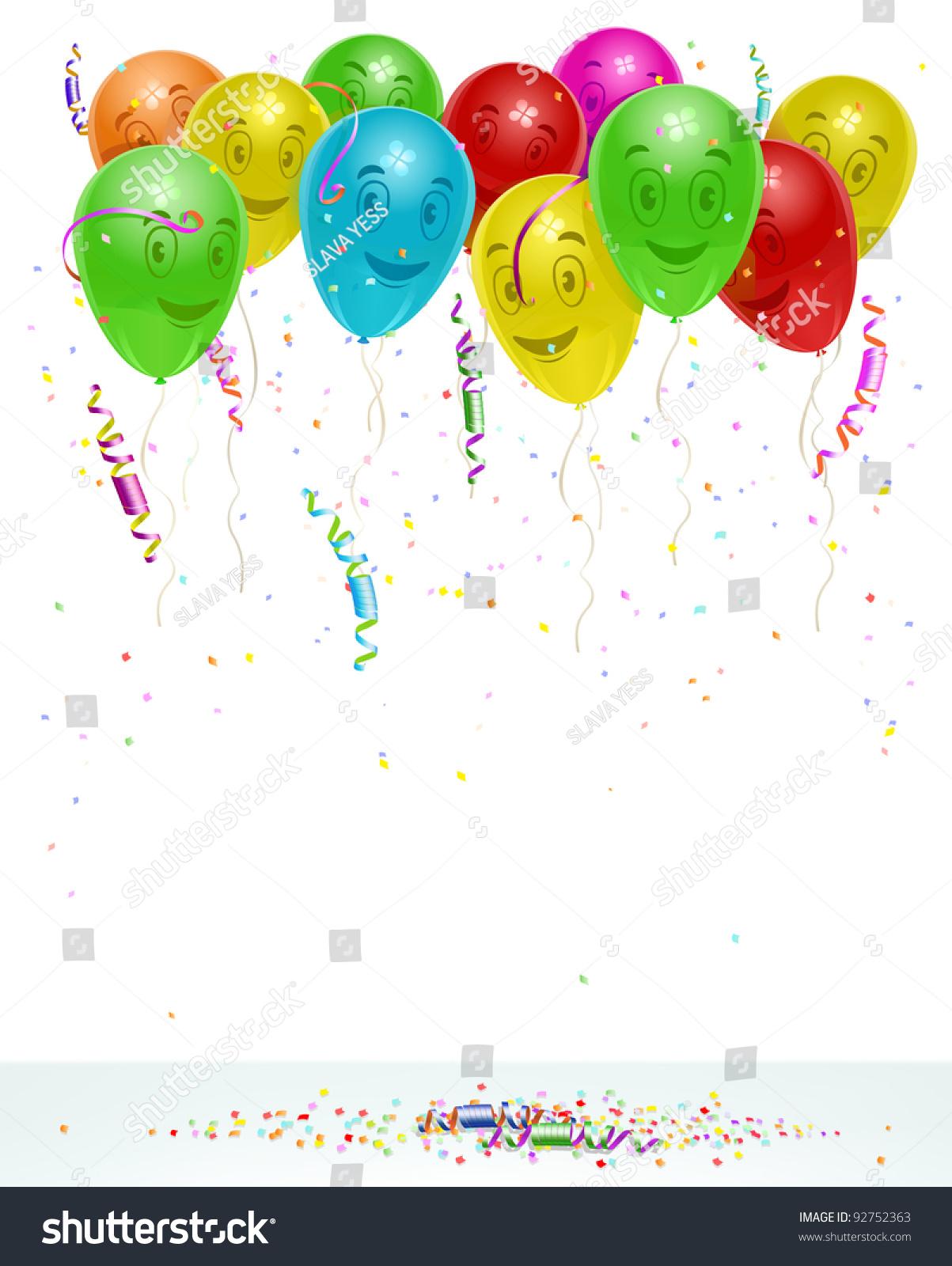 Birthday Card Background Vector Illustration Custom Vector – Birthday Cards Backgrounds