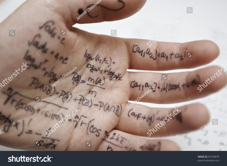 Cheat Sheet Clip Art
