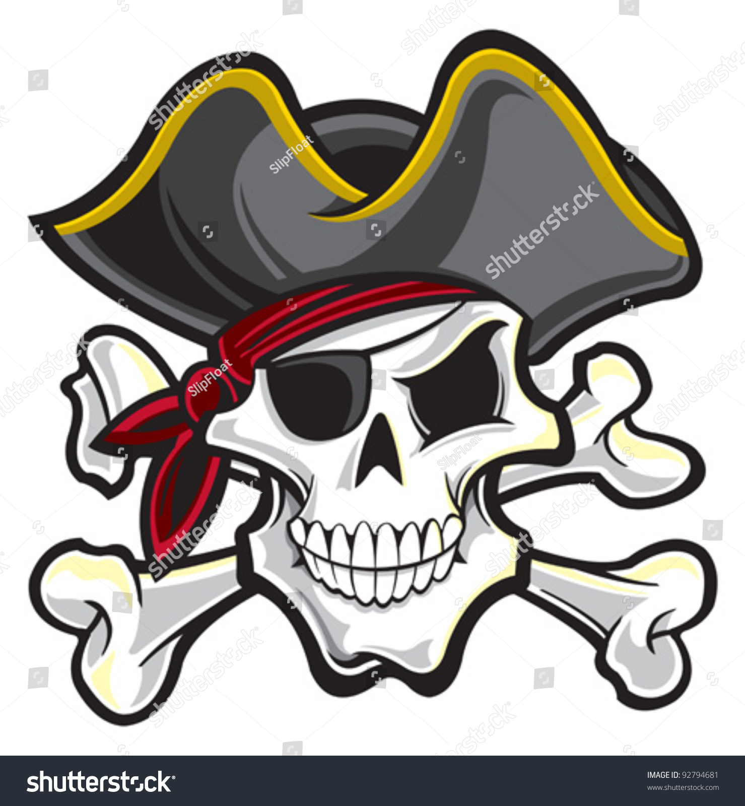 pirate stock vector 92794681 shutterstock