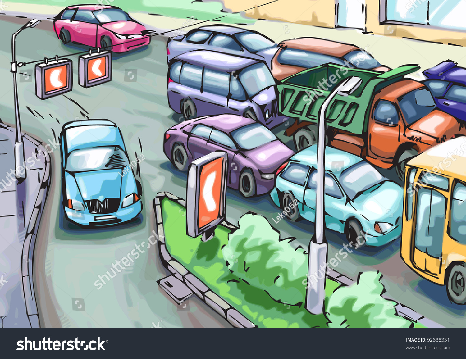 essay on when i was stuck in traffic jam English conversation - traffic & commuting  traffic expressions traffic jam - a long line of  have you ever been in a traffic jam have you ever been stuck in .