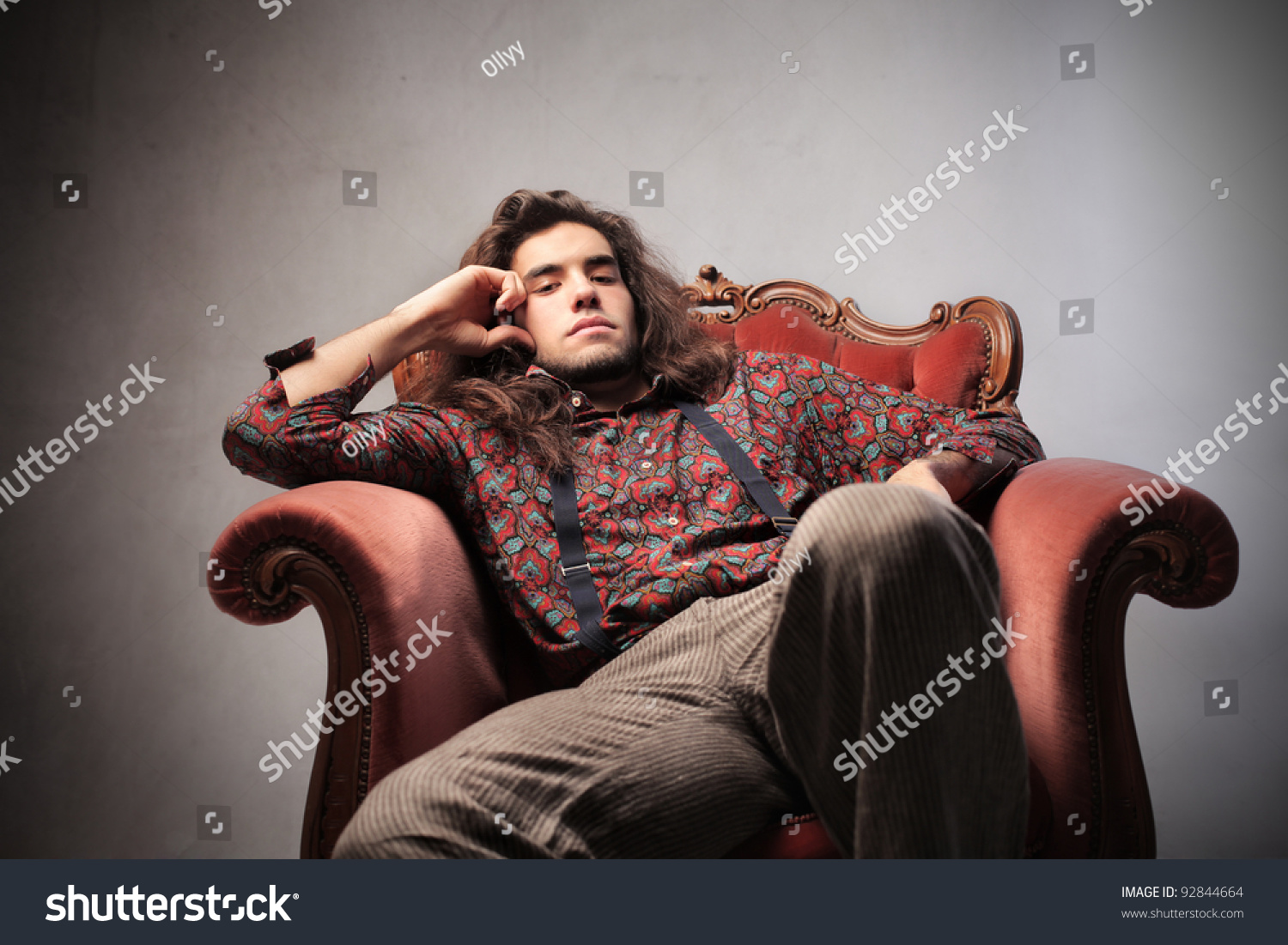 Belarusian Bored Guy In The Armchair