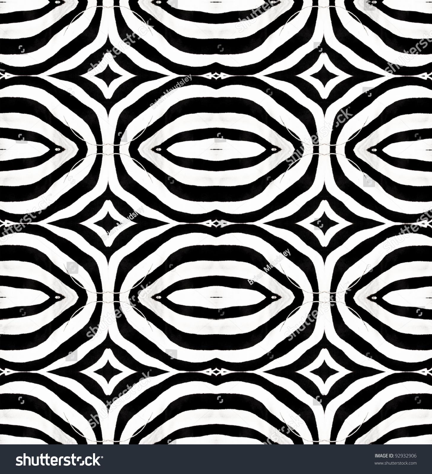 Real zebra pattern - photo#16