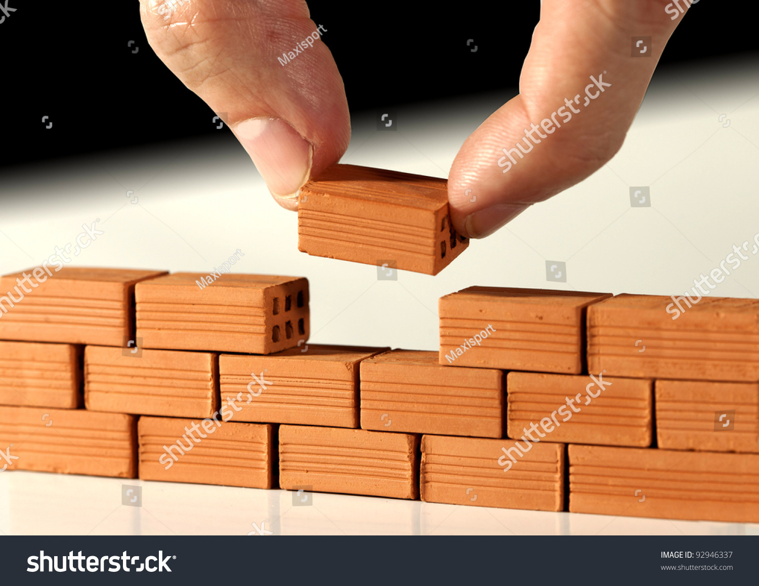 Two Fingers Put Last Brick On Stock Photo 92946337. Best Living Room Designs 2013. Where To Place Furniture In Living Room. Simple Small Living Room Decorating Ideas. Living Rooms With Black Couches. Sofa In Small Living Room. Wallpaper Living Room Ideas For Decorating. Corner Showcase Designs For Living Room. French Living Room Ideas