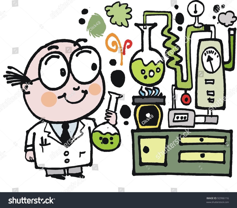 Clinical laboratory cartoon