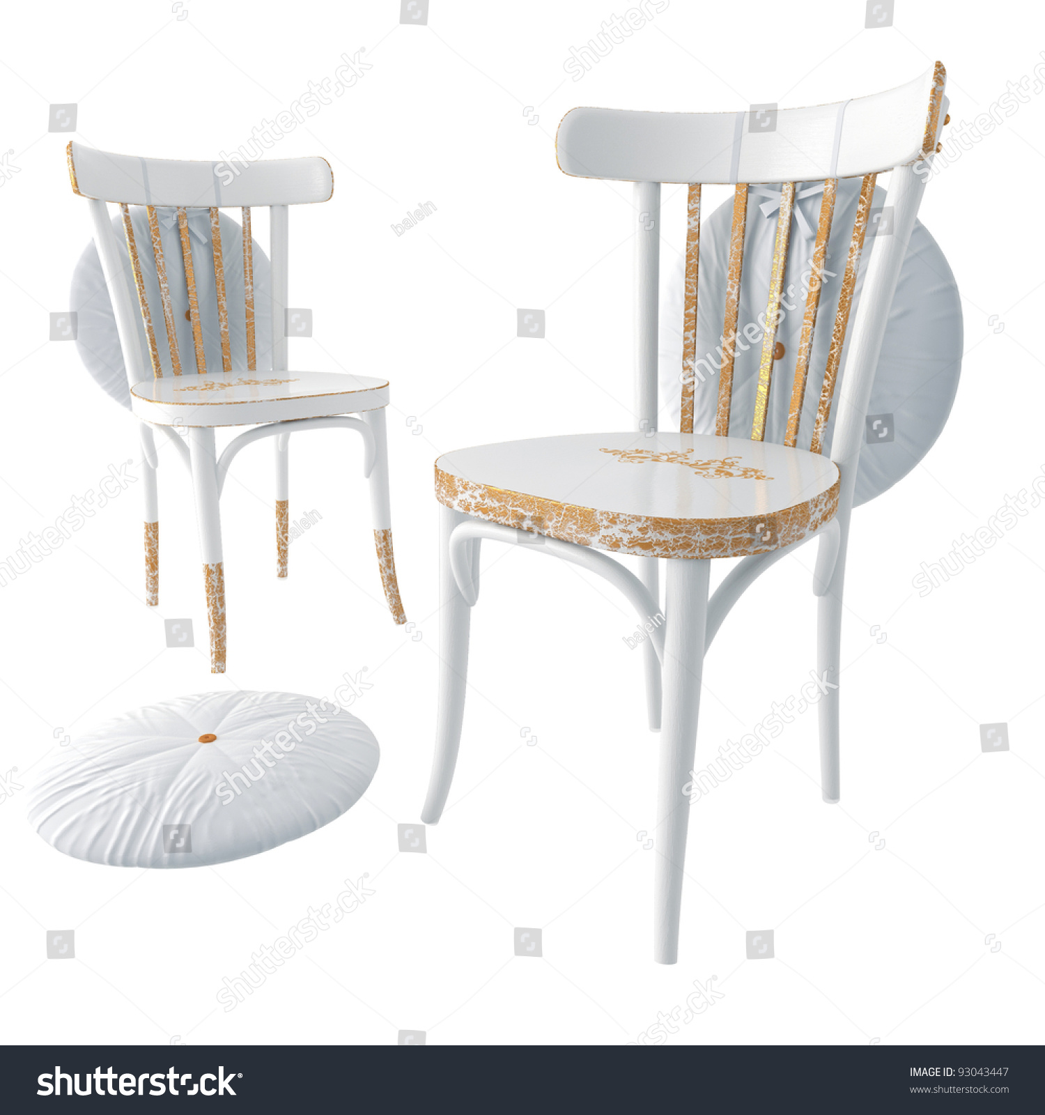 Chair the traditional restored wooden kitchen chair for Traditional wooden kitchen chairs