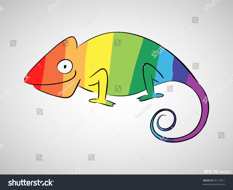 green chameleon logo