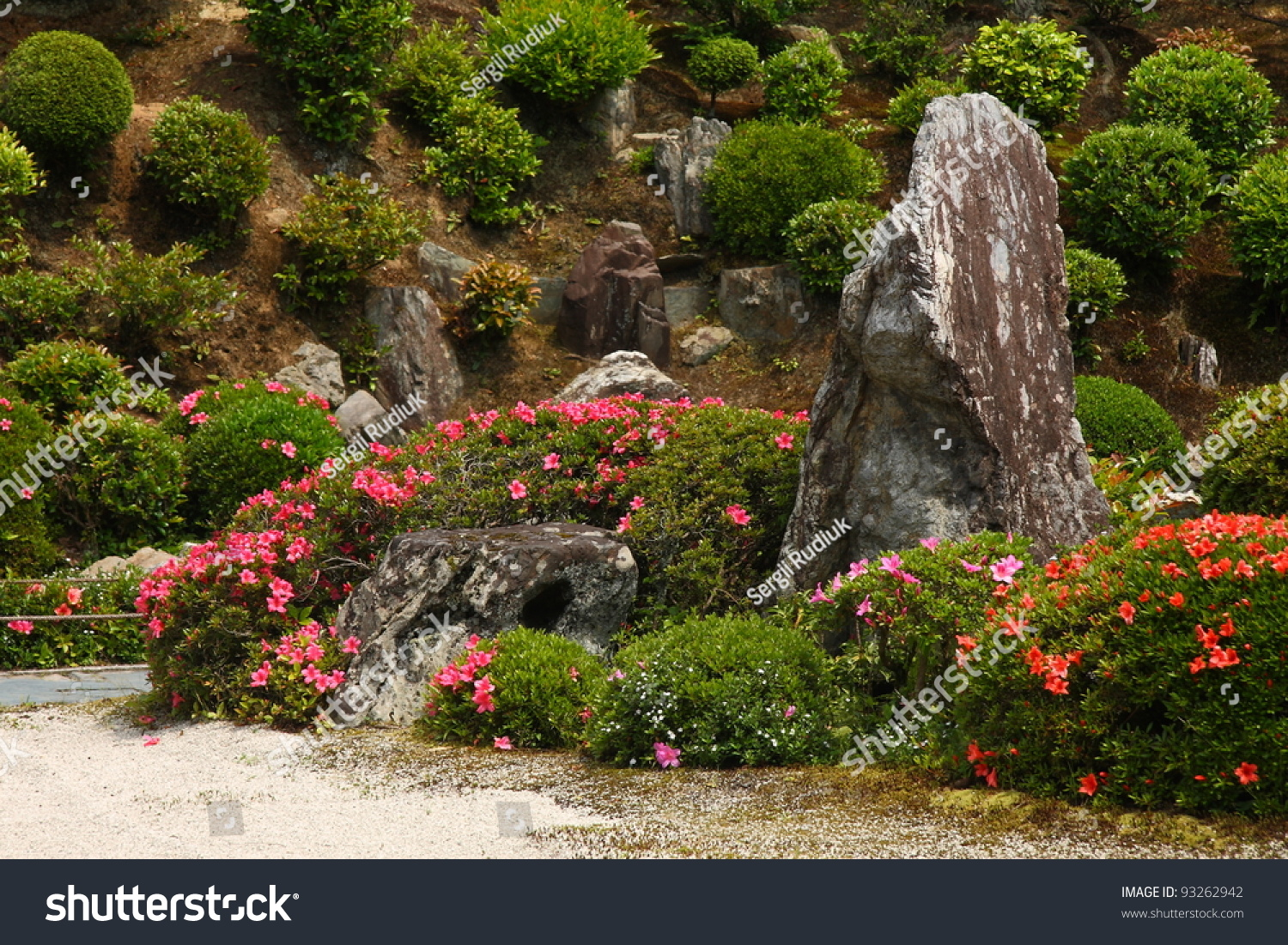 Japanese Rock Garden Tofkuji Temple Kyoto Stock Photo (Edit Now ...