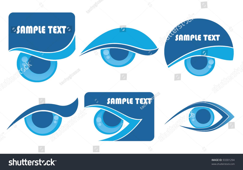 Vision Symbols Stock Image - Image: 23184061
