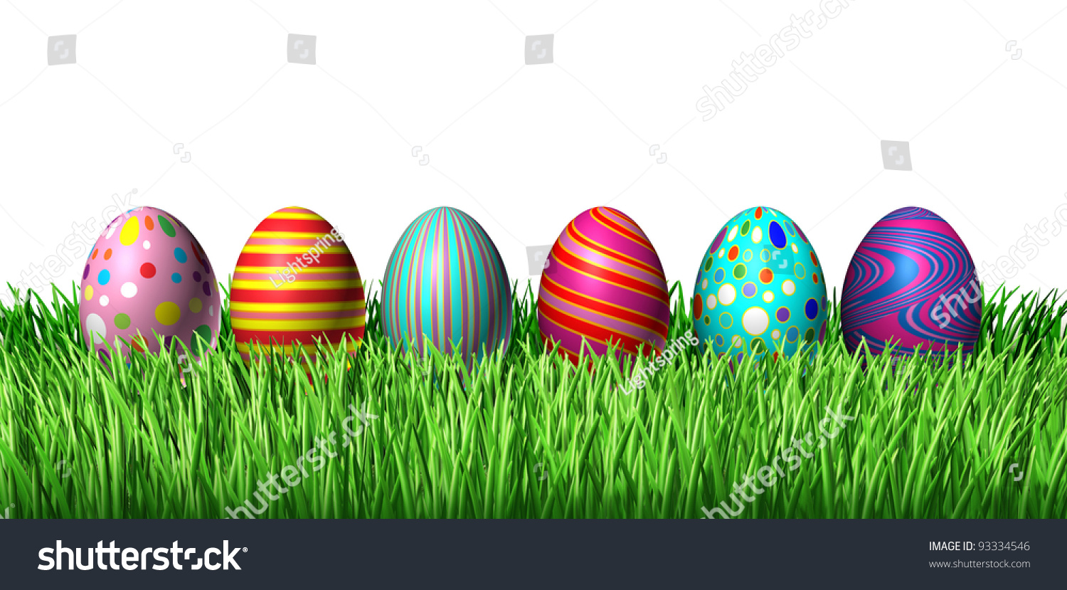 Cockatile Sitting On Easter Eggs 27