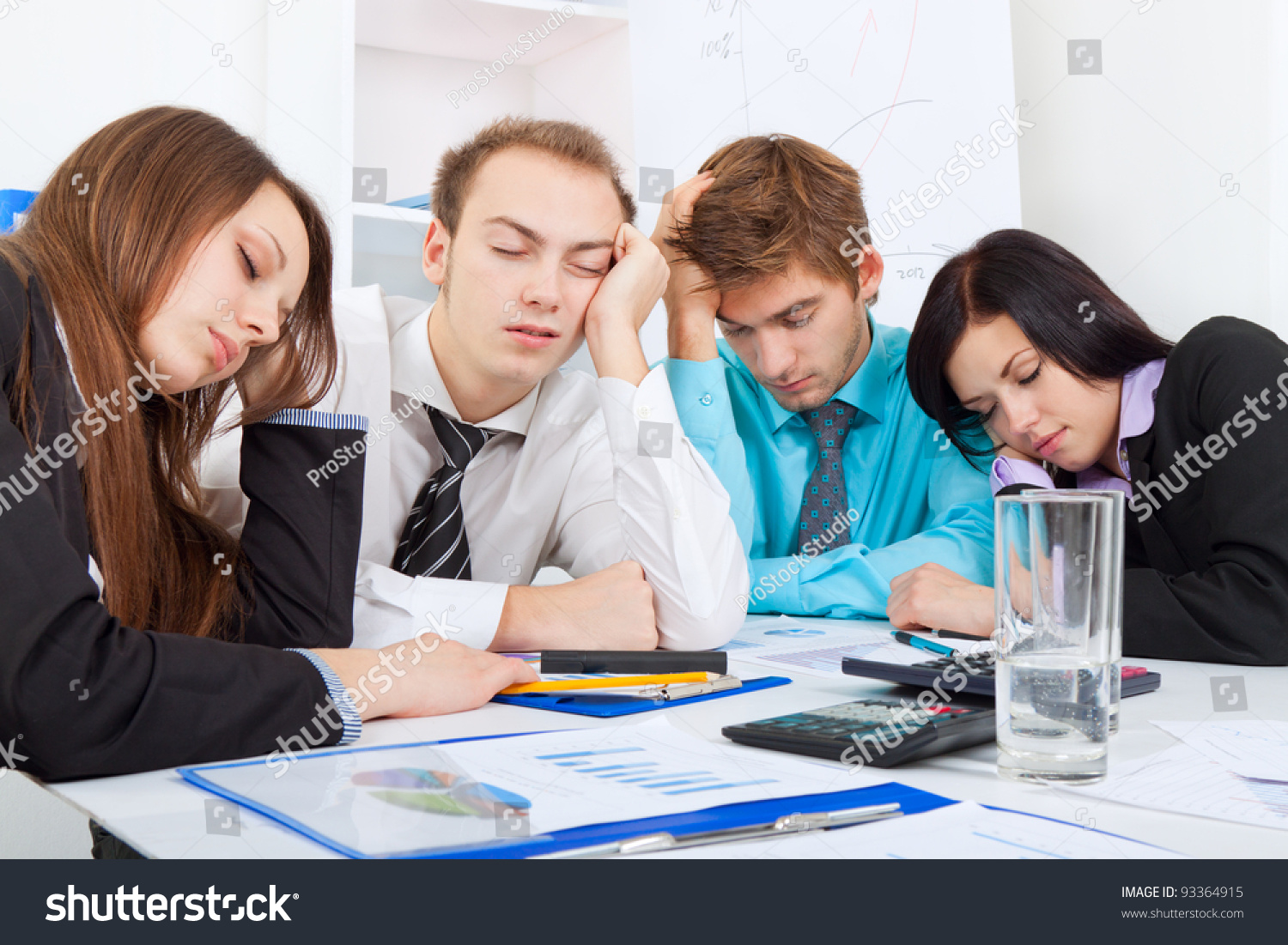 Casual business people at the office | Stock Photo | Colourbox  |Relaxed Business Person