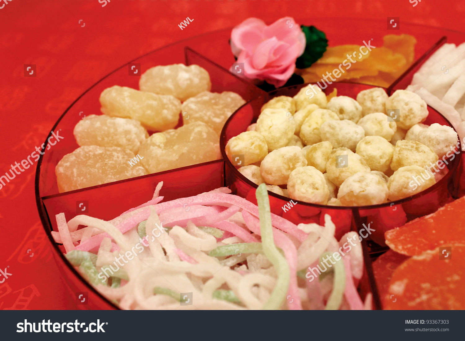 traditional chinese new year candy box - Chinese New Year Candy