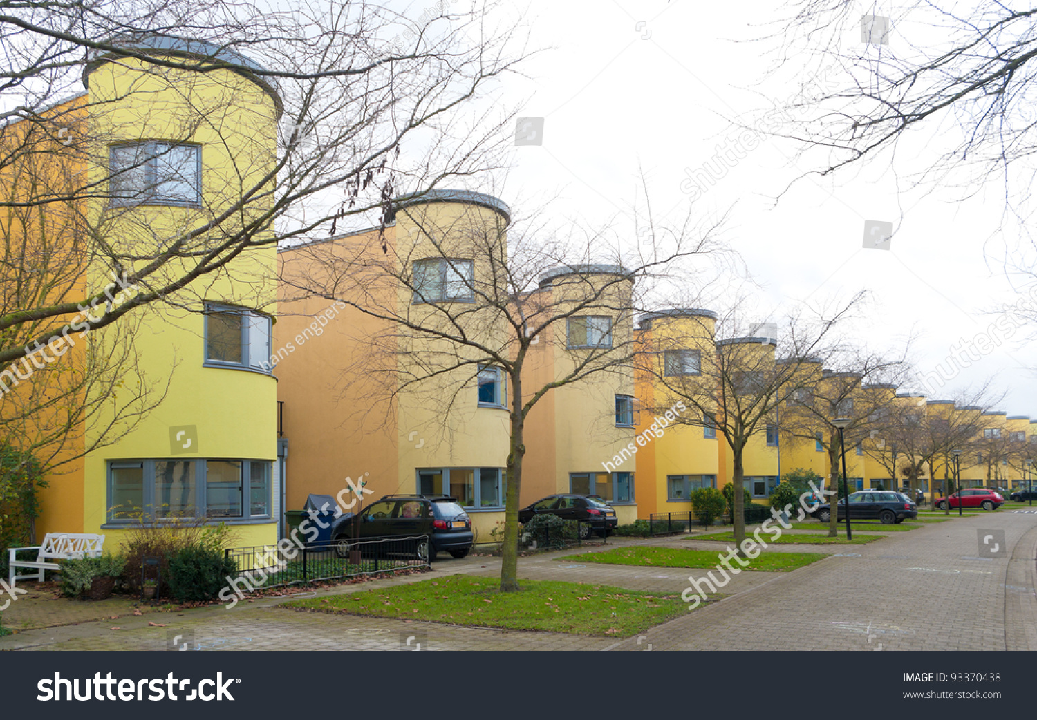 Modern Colorful Detached Houses In Almere, Netherlands ... Colorful Almere