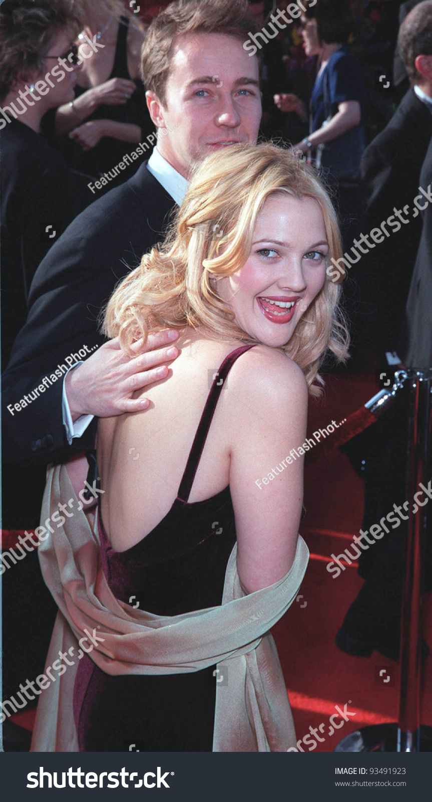 edward norton and drew barrymore dating history