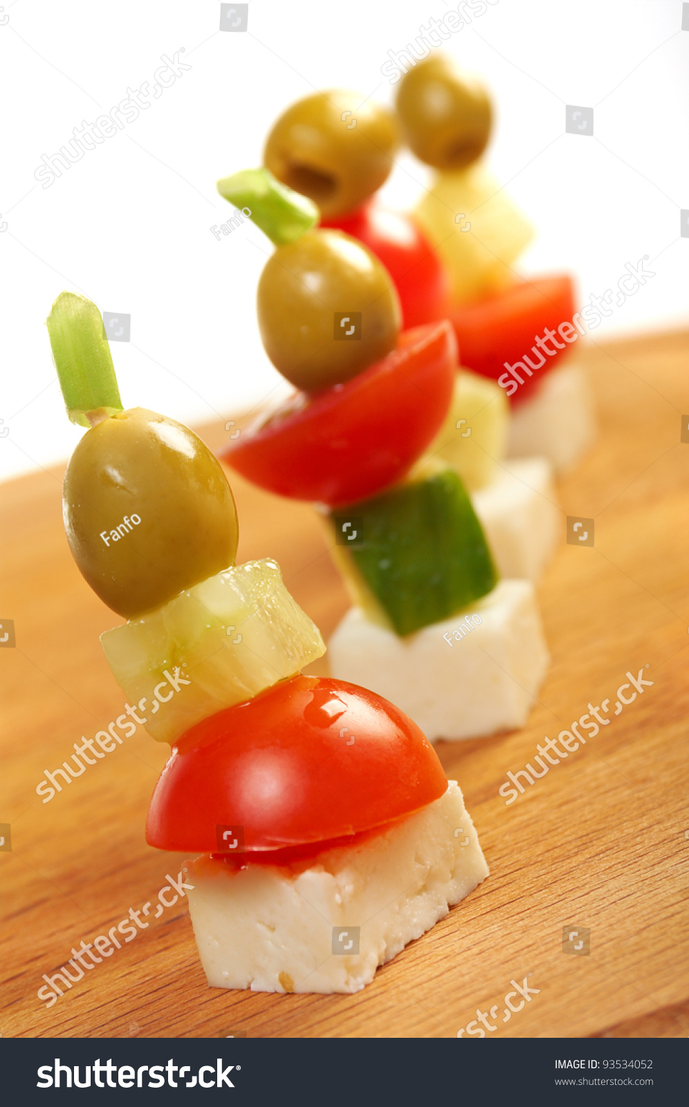 Canape platter with cheese cucumber tomato olives for Canape platters