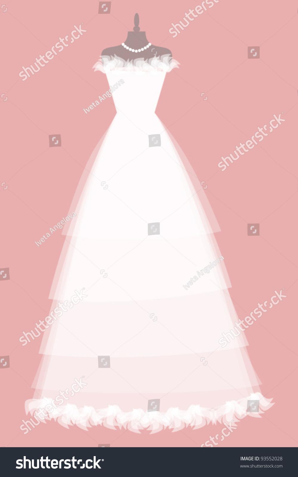 EPS 10 Vector Illustration Beautiful Wedding Stock Photo (Photo ...