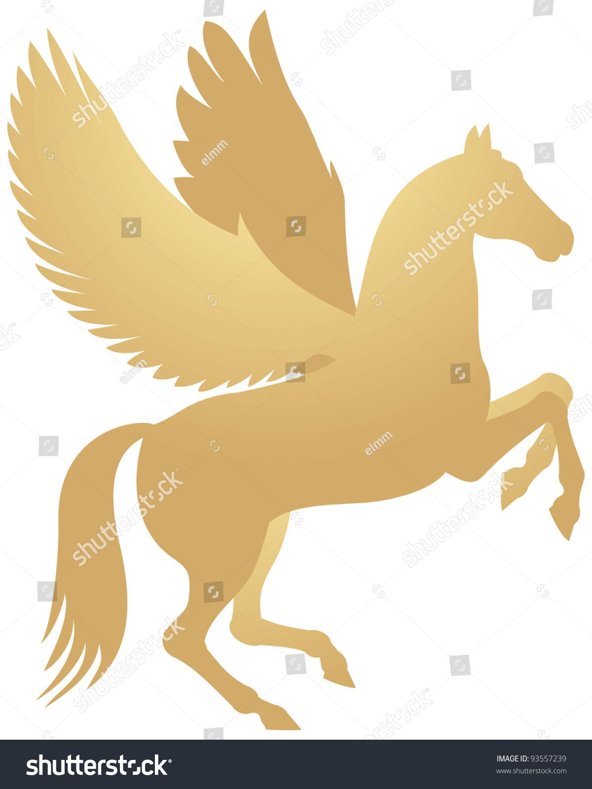 flying horse symbol