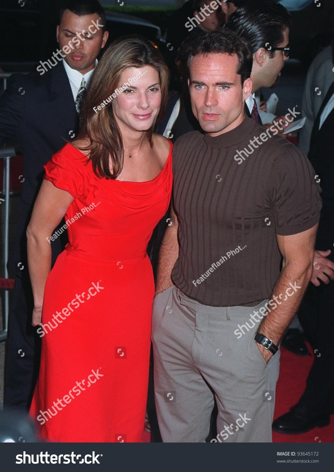 09jun97: Sandra Bullock & Jason Patric At The Premiere Of ...
