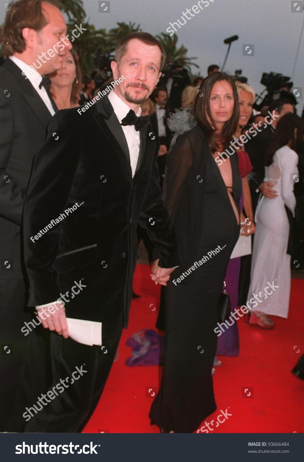 07may97: Gary Oldman & Wife Donya Fiorentino At The 1997 ...