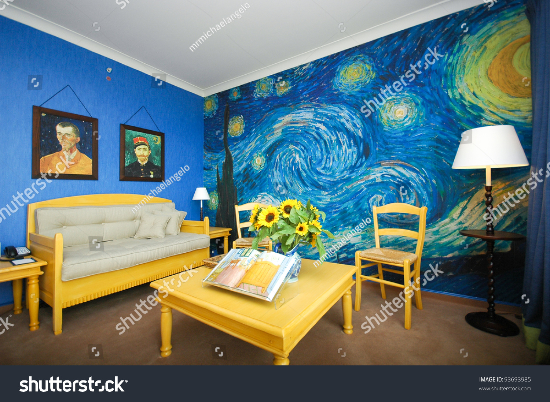Painting The Bedroom Amsterdam June 6 Van Gogh Room Stock Photo 93693985 Shutterstock