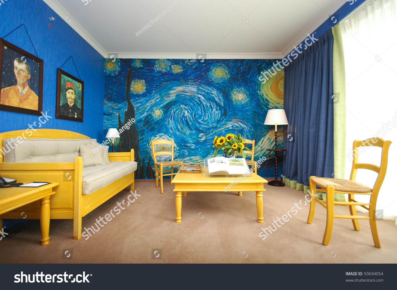 Amsterdam June 6 Van Gogh Room Stock Photo 93694054