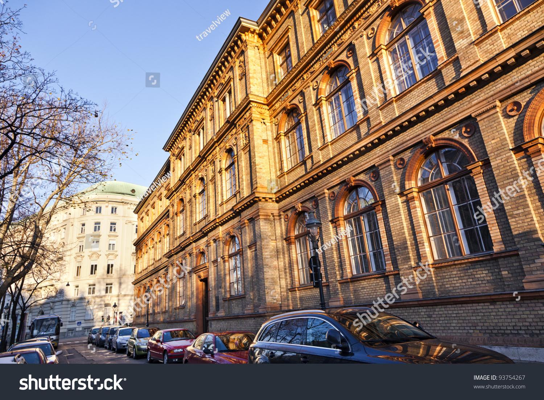 Austrian Museum Applied Arts Vienna Mak Buildings Landmarks Stock Image 93754267