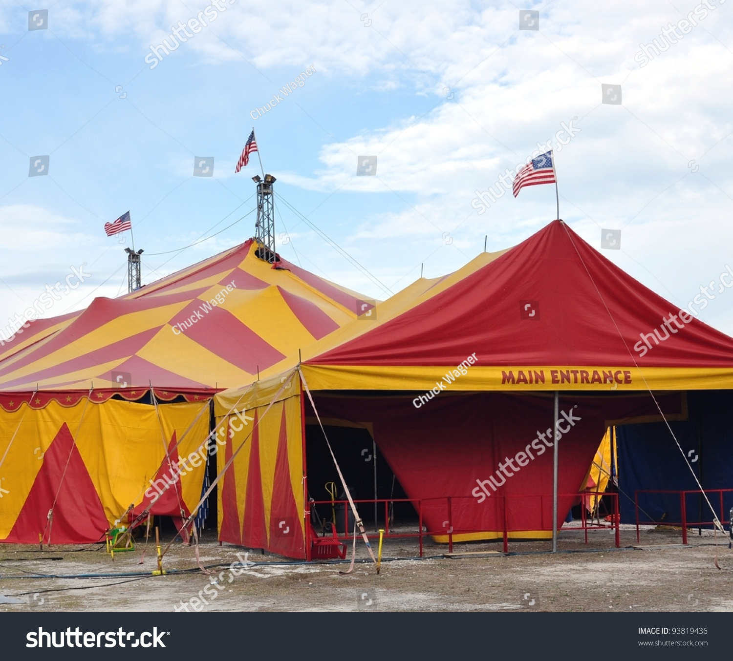 Circus Tents Main Entrance & Circus Tents Main Entrance Stock Photo 93819436 - Shutterstock